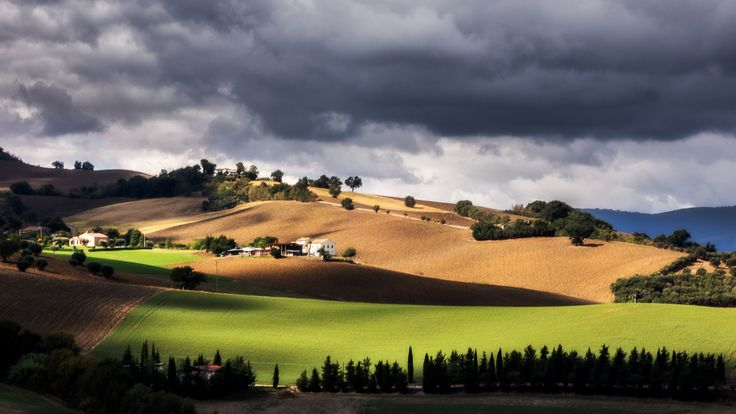 colline marchigiane by Luigi Alesi on 500px