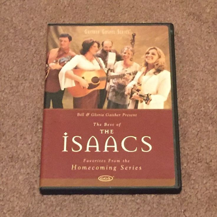 The Best of The Isaacs Gaither Gospel Series (DVD, Music Video, Vocals, 2004)