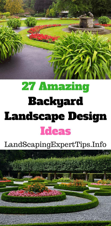 72 besten Landscape Design For Backyard Bilder auf Pinterest ...