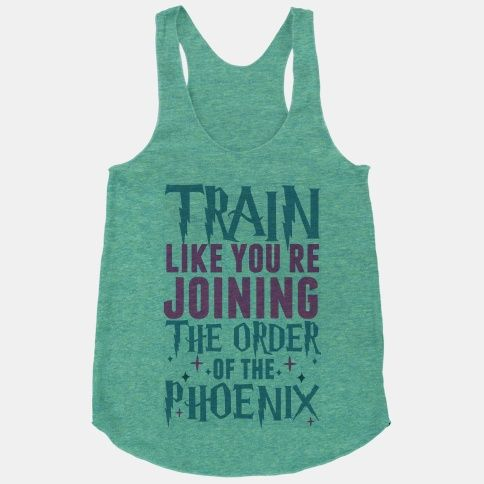 Train Like You're Joining The Order of The Phoenix