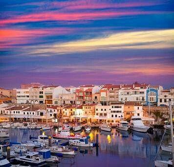 Era así una vez de cada vez una #menorca de fabula con vistas de #postal #profunda #silenciosa #cautivadora enajenada por el #mar #mediterraneo