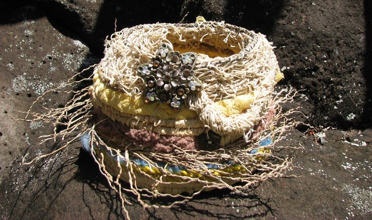 Bird's nest basket | Nu4U Fashion and Home Decor on Facebook and Etsy
