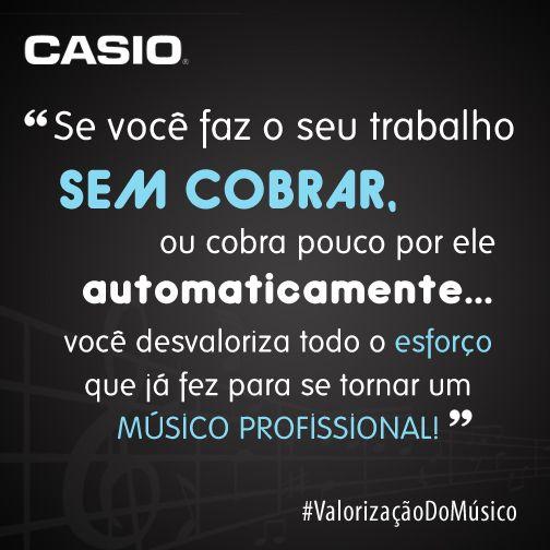 #músico profissional!