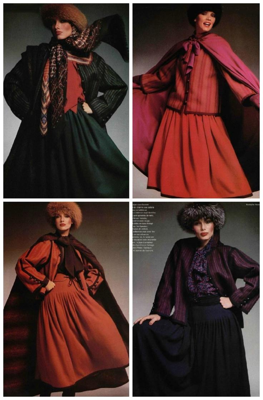 yves saint laurent les robes russes haute couture collection hiver 1976 yves saint laurent. Black Bedroom Furniture Sets. Home Design Ideas