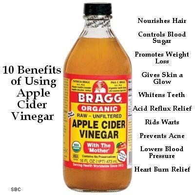 Natural Hair C Apple Cider Vinegar