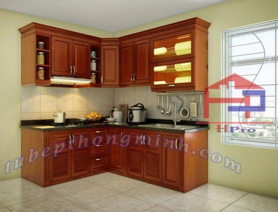 Hpro là đơn vị tiên phong, chuyên thiết kế tủ bếp gỗ xoan đào hoàng anh TBXD138 chất lượng cao, giá phải chăng tạo nên không gian bếp độc…