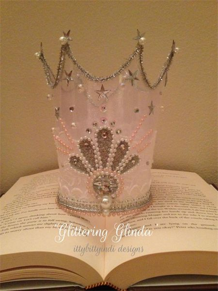 29 best images about wizard of oz on pinterest emerald for Glinda the good witch crown template