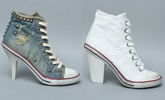 High Top High Heels-