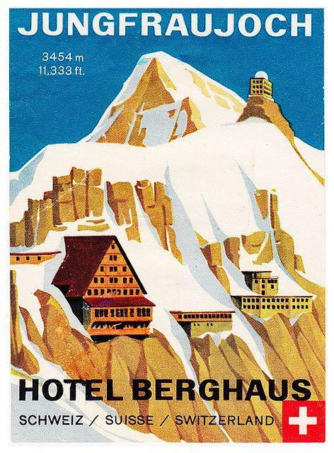 Jungfraujoch - Hotel Beghaus