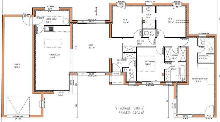 MAISON design 133 m² 3 chambres