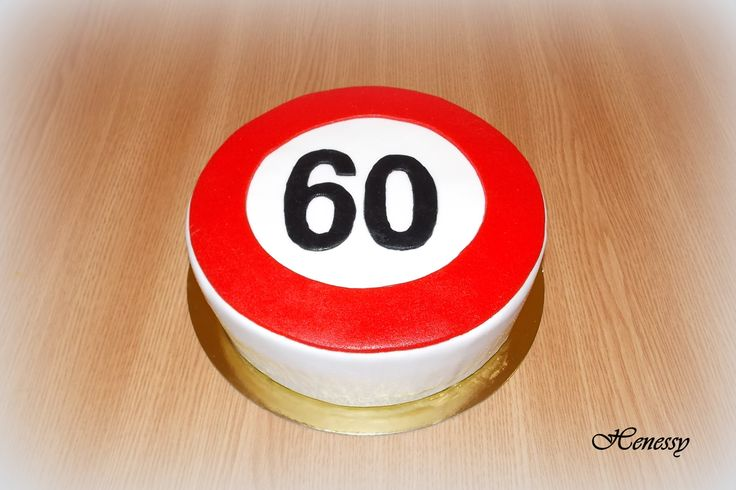 60 torta - Speed limit cake 2.