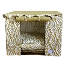 Damask Crate Cover