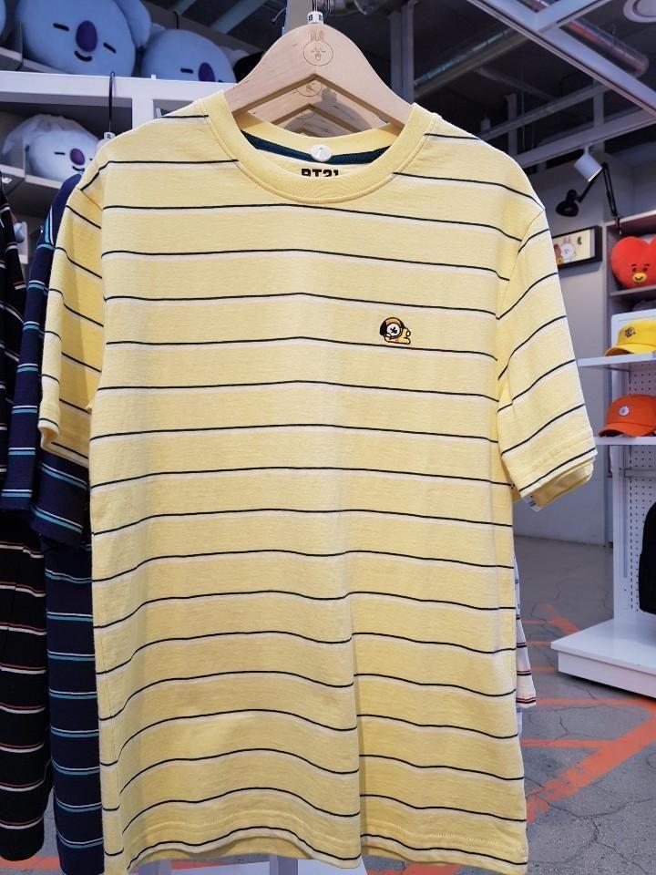95943dcd1d4a Bt21 chimmy basic stripe t-shirt in 2019 | Official BT21 Merch | Bts ...