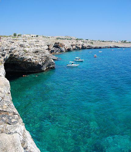 Grotta delle Tre Porte, S.Maria di Leuca, Lecce, Puglia