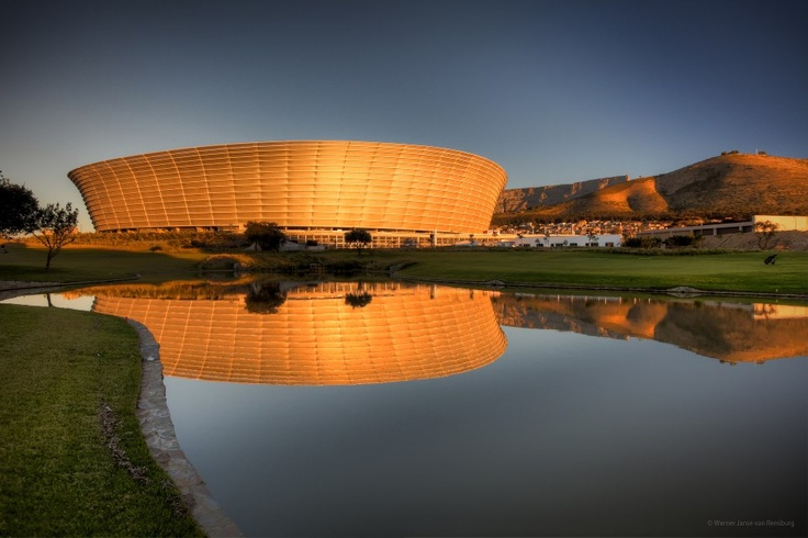 The Cape Town stadium.