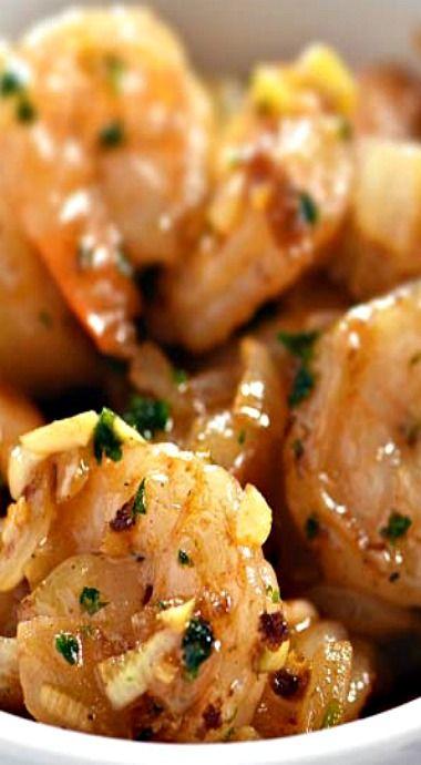 Brown Butter Garlic Shrimp Recipe