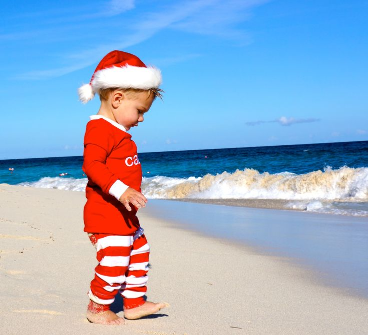 We need another beach vacation so I can get a cool christmas card pic!  Still one of my favorite pictures of Cade!