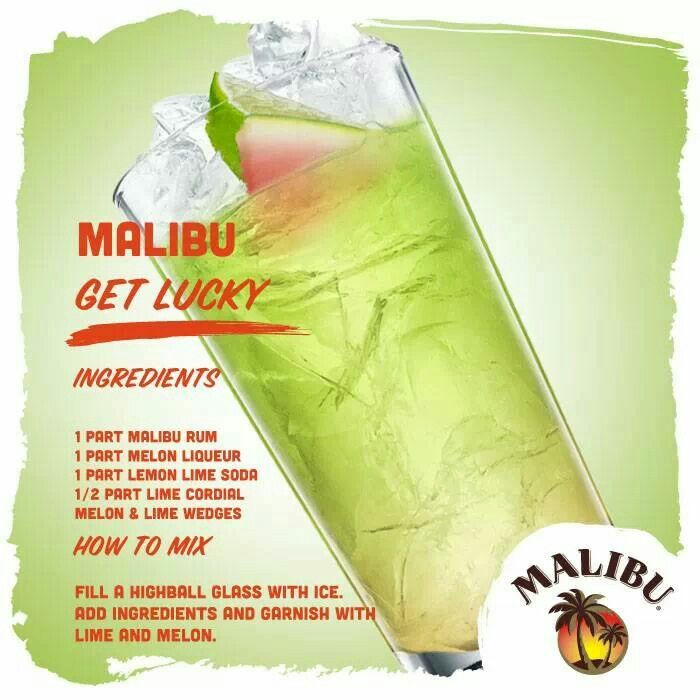 14 Best Malibu Cocktail Creations Images On Pinterest