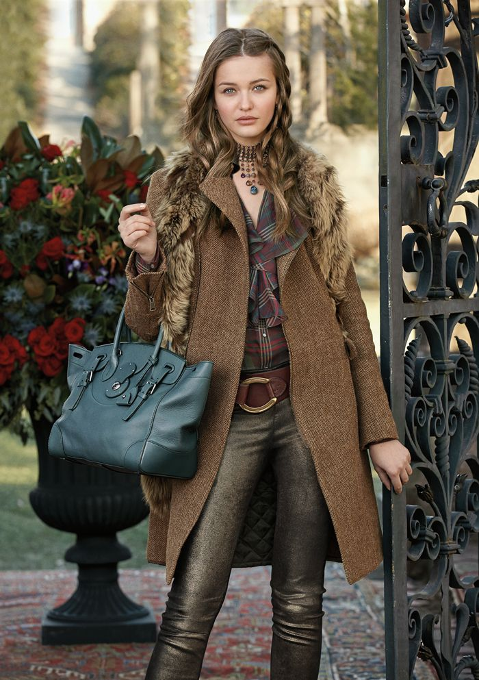 ralphlauren: Ralph Lauren Blue Label A new twist on heritage from the Fall 2013 Blue