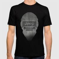 Black Jeep Black Mens Fitted Tee MEDIUM