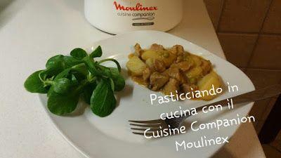 Pasticciando in cucina con il Cuisine Companion Moulinex: Spezzatino di maiale con patate e piselli