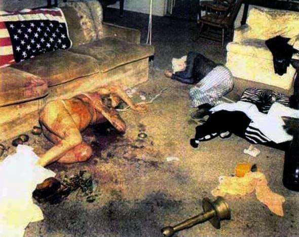 Crime scene of Sharon Tate and Jay Sebring                              …
