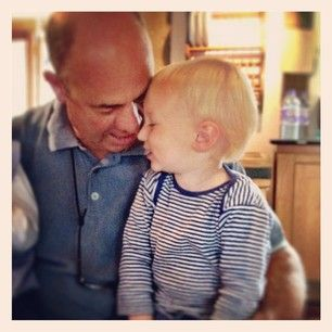 buds and grandpa having a little moment xxx Jools Oliver: parents should be more imaginative with kids names