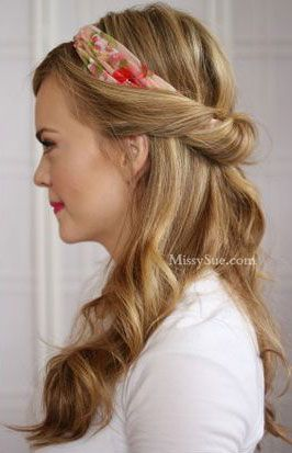 Incorporating Headbands into Creative, Everyday Hairstyles - http://sensualhairgrowth.com/incorporating-headbands-into-creative-everyday-hairstyles/