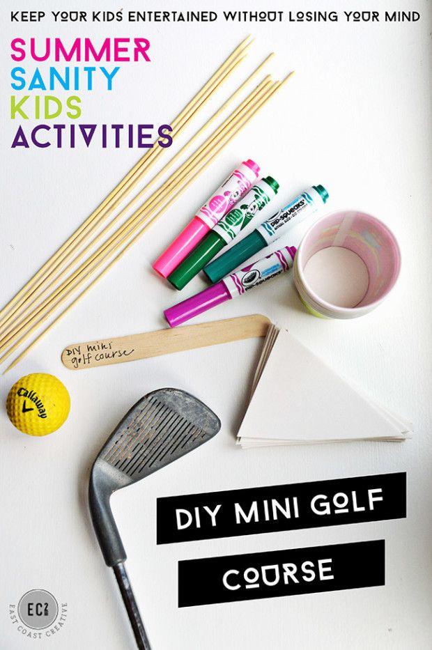 East Coast Creative Indoor Mini Golf Summer Activities For Kids East Coast Creative sm