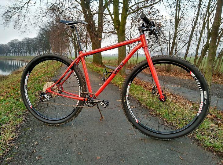 """Prodám: Pevný ocelový 29"""" bike Werk - bazar - Bike-forum.cz"""