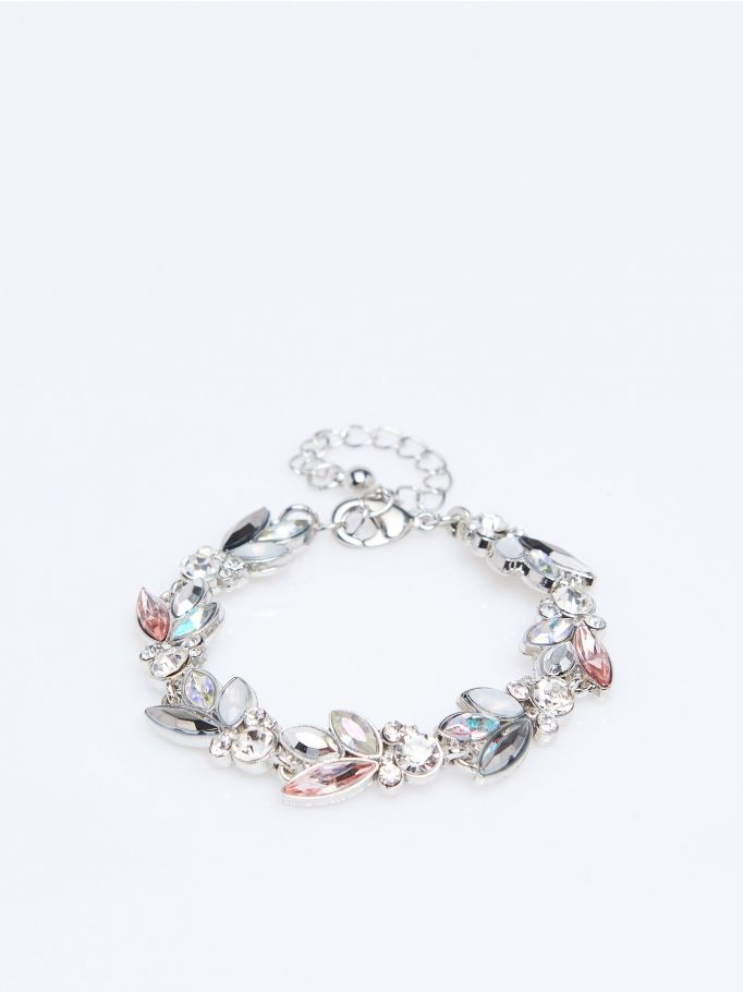 Rhinestone necklace, MOHITO