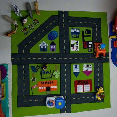 felt play mat for kids