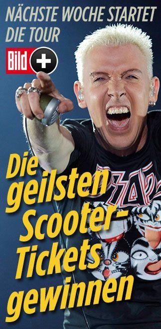 Gewinnen Sie Scooter-Tickets