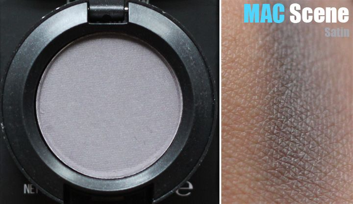 Mac Scene eyeshadow   Dark Winter & DW SoftZyla Soft ...