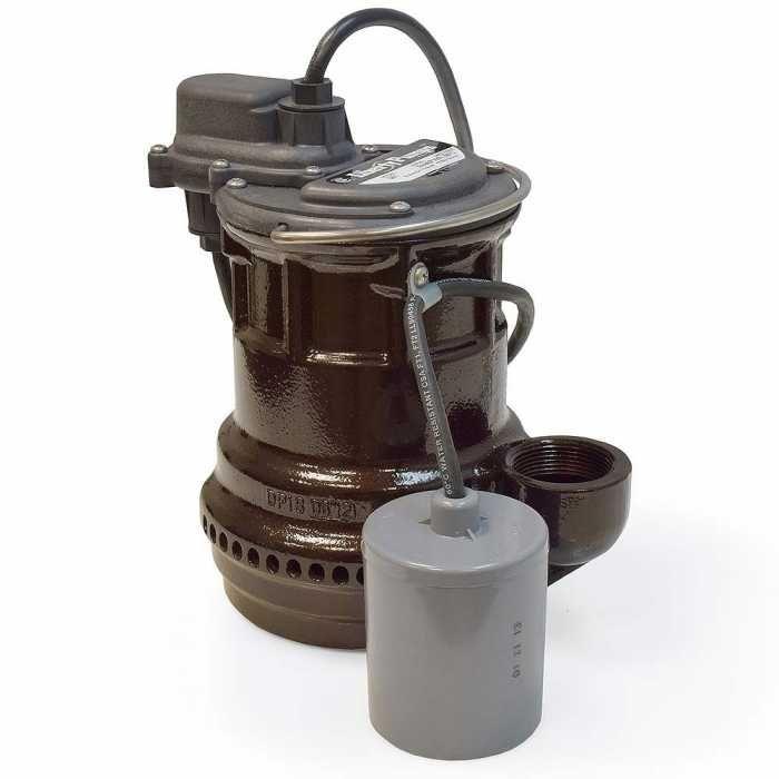 Liberty Pumps 251, 1/3 HP Cast Iron Submersible Sump/Effluent Pump