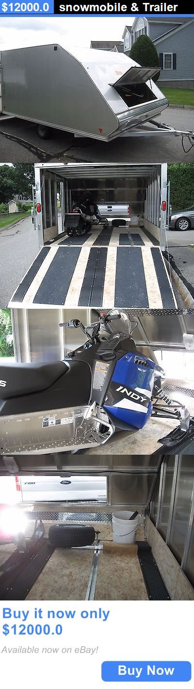 atvs utvs snowmobiles: Snowmobile And Trailer BUY IT NOW ONLY: $12000.0