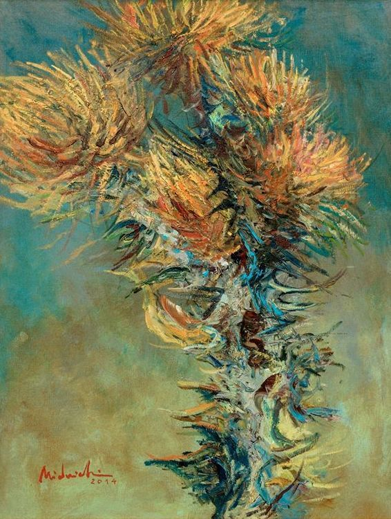Ciulini – Laurențiu Midvichi – 2000 lei   EliteArtGallery - galerie de artă