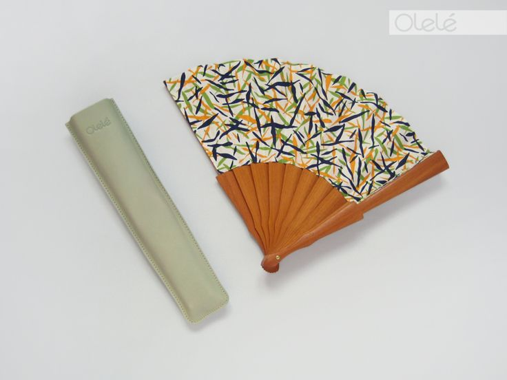 Cotemporary hand fan by Olelé #spanish #streetwear #summer #resort #style #menopause #gift