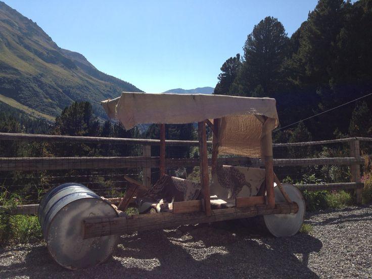 I Flintstones nella Valle dei Forni  !! Lombardia Valtellina Valfurva - Rifugio Stella Alpina