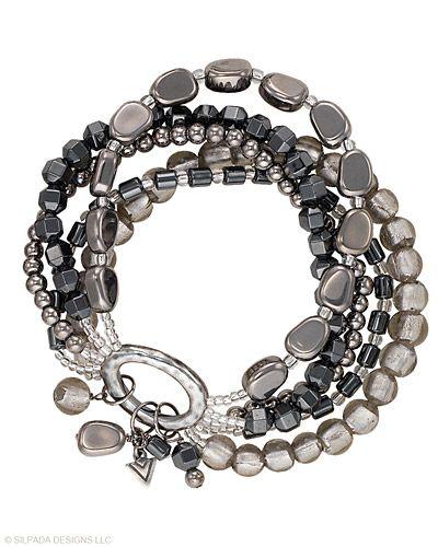 : Diy Jewelry Bracelets, Silpada Style, Stretch Bracelets, Silpada Designs, Hailstone Stretch, Silpada Bracelets, Jewels, Silpada Jewelry