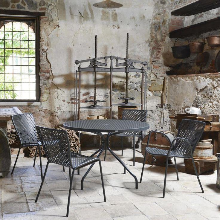 61 best Tavoli e sedie da giardino images on Pinterest | Charcoal ...