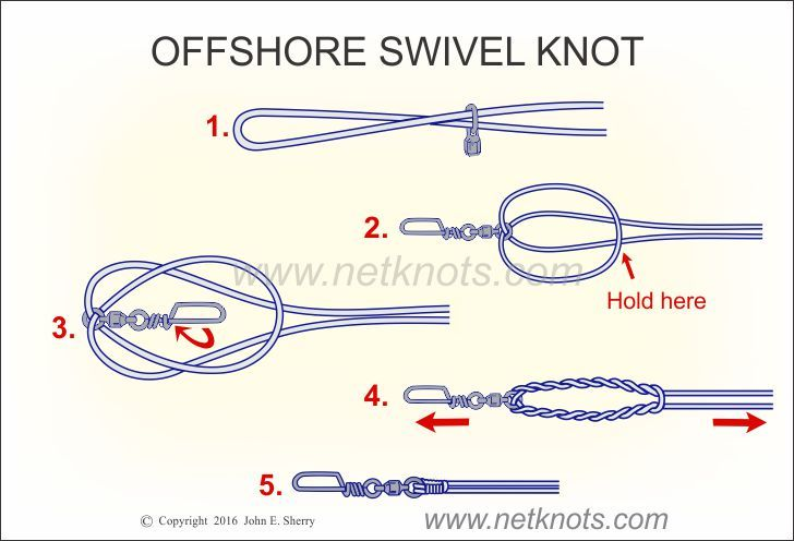 86 best fishing knots images on pinterest fishing knots for Fishing swivel knot