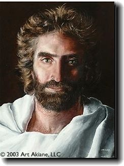 """A painting of Jesus by 8 year-old Akiane Kramarik who had a near death experience; 4-year old boy who experiences a similar near-death experience confirmed this picture was the Jesus he saw in heaven. Read """"Heaven Is For Real."""" Amazing... please support the persecuted christians: www.opendoors.org"""