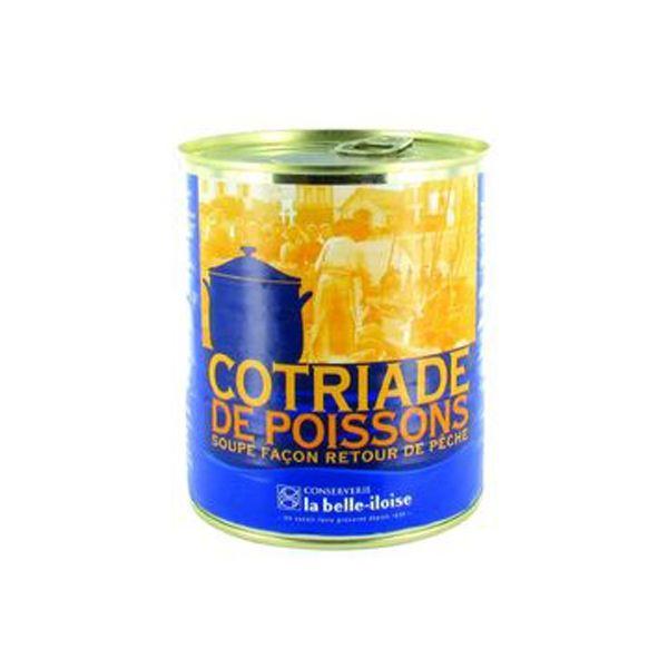 Cotriade de Poissons (Bouillabaisse)