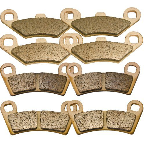 Polaris 800 Ranger RZR Razor & RZR S EFI Sintered Metal Front and Rear Brake Pads 2008 2009 2010 2011 2012 2013      4 Sets of Brand New High Quality Brake Pads     Enough to replace FRONT AND REAR calipers     These are Sintered metal brake pads. Sintered brakes last longer and handle the heat of heavy braking better     Sintered metal brake pads are especially good for wet weather     2008-2013 POLARIS 800 Ranger RZR (RAZOR) & 2009-2013 POLARIS 800 Ranger RZR S EFI