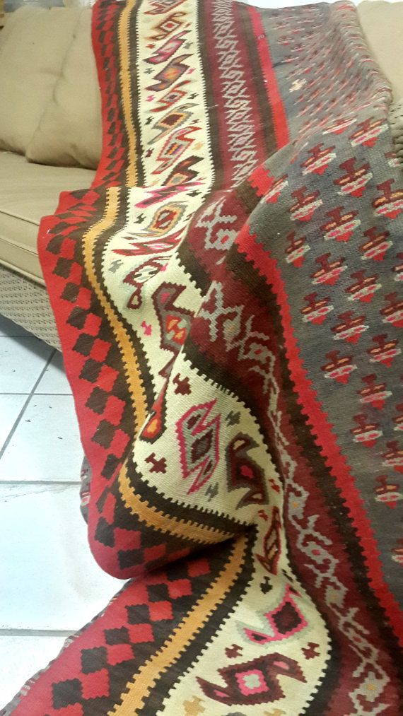 Check out this item in my Etsy shop https://www.etsy.com/listing/211669359/vintage-antique-caucasian-kilims-rugs