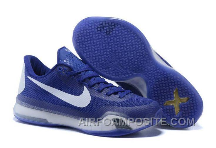 http://www.airfoamposite.com/nike-kobe-10-shoes-royal-blue-white-online.html NIKE KOBE 10 SHOES ROYAL BLUE WHITE ONLINE Only $73.24 , Free Shipping!