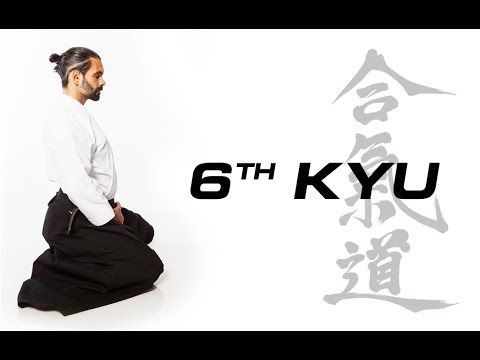 Aikido Techniques for Beginners - 6th Kyu Test Requirements - YouTube