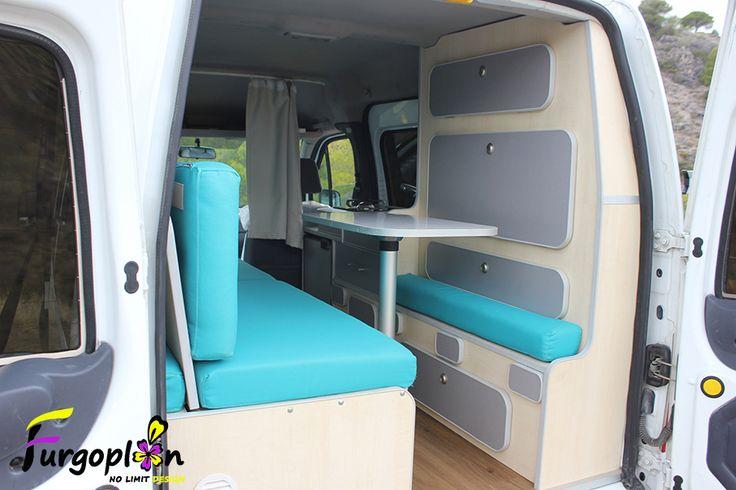 compartimentos camper ford tourneo. Black Bedroom Furniture Sets. Home Design Ideas