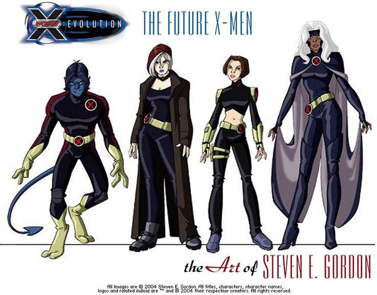 ... thème X Men Evolution sur Pinterest | X Men, Kitty Pryde et Psylocke